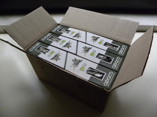 2014 Συσκευασία σε κιβώτια των 40 τεμαχίων